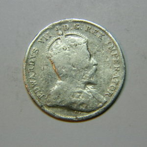 10 Cents Edouard VII 1903 TB Canada Argent 925 °/°° EB90207