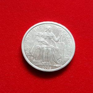 2 Francs Nouvelle Calédonie 2003 SPL SI90359