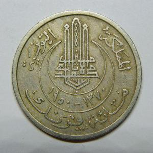 100 Francs TUNISIE 1950 SUP EB90493