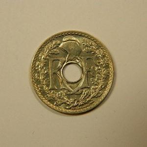 10 Centimes Lindauer Maillechort 1939 SPL EB90084