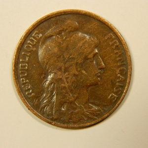 5 Centimes Daniel DUPUIS 1916 TTB EB90096