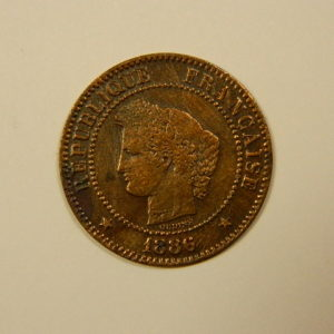 2 Centimes Cérès 1886A TTB   EB90101