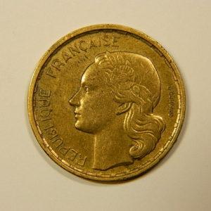20 Francs Guiraud 1950B 3 Faucilles TTB EB90104