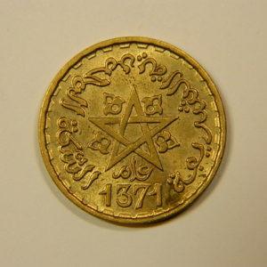 10 Francs 1371-1951 SUP+ Mohamed V MAROC EB90111