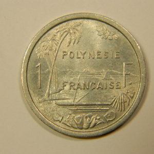 1 Franc Océanie Polynésie Française 1965 SUP EB90115