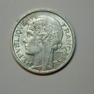 50 Centimes Morlon Alu 1947B SUP EB90017