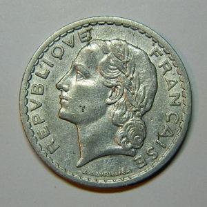 5 Francs Lavrillier 1947 SUP EB90024