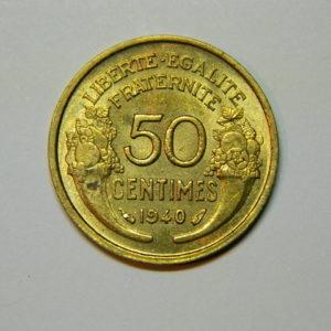 50 Centimes Morlon 1940 SPL EB90034
