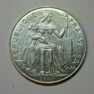 5 Francs Océanie Polynésie Française 2006 SUP/SPL EB90044
