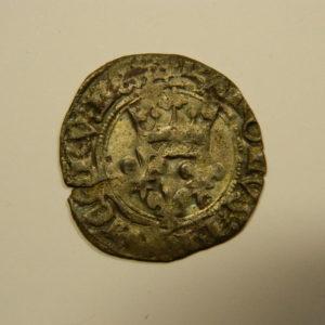 Gros dit « florette » Charles VI 1417 Paris TTB EB90527