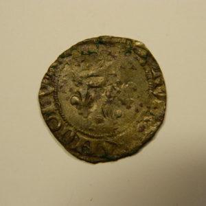 Gros dit « florette » Charles VI 1388.Troyes 1ère Emission RARE  EB90529