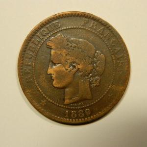 10 Centimes Cérès1889A TB EB90544