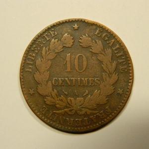 10 Centimes Cérès1897A TB EB90545