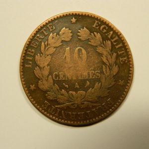 10 Centimes Cérès1897A TB EB90548