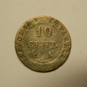 10 Centimes Napoléon 1er 1808A TB EB90556
