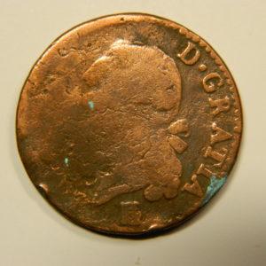 SOL à l'Ecu Louis XVI 1785? B- EB90570