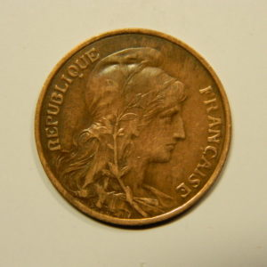 5 Centimes Daniel DUPUIS 1914 TTB+ EB90571