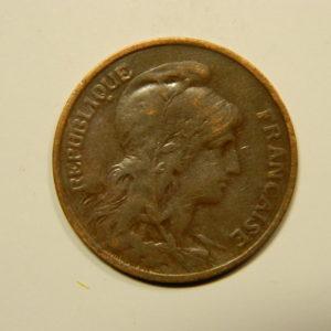 5 Centimes Daniel DUPUIS 1911 TB EB90573