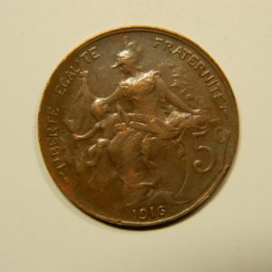 5 Centimes Daniel DUPUIS 1916 SUP EB90576
