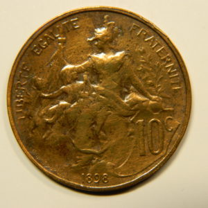 10 Centimes Dupuis 1898 TTB EB90577