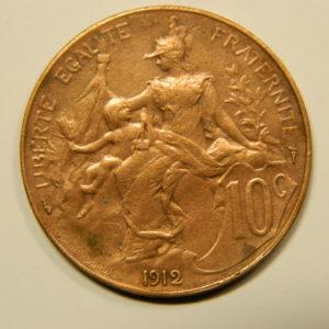 10 Centimes Dupuis 1912 SUP EB90578