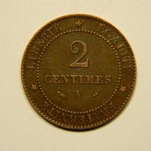 2 Centimes Cérès 1896A  SUP EB90585