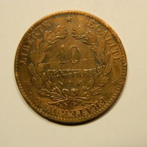 10 Centimes Cérès1890A TTB EB90608