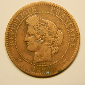 10 Centimes Cérès1896A TTB EB90611