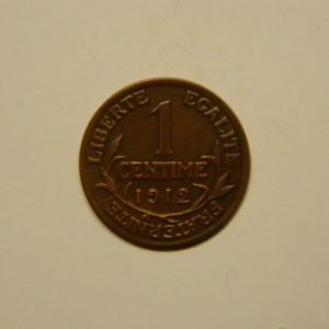 1 Centime Daniel Dupuis1912 SUP EB90616