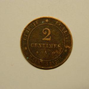 2 Centimes Cérès 1879A TTB   EB90627
