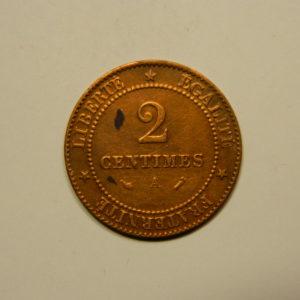 2 Centimes Cérès 1896A SUP   EB90633