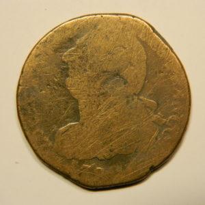 2 SOLS Louis XVI  AB EB90639