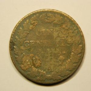 5 Centimes DUPRE An6/5A  B  EB90667