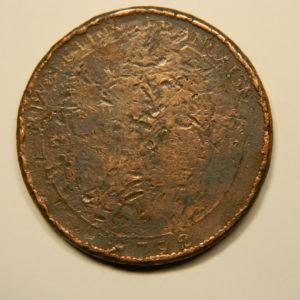 Monnaie de Confiance Monneron 5 Sols aux serments 1792 EB90676