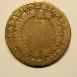 12 DENIERS Louis XVI 1791.A TB EB90681