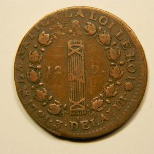 12 DENIERS François Louis XVI 1791B TTB  EB90685