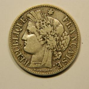 2 Francs Cérès 1881A TTB Argent 835°/°° EB90696