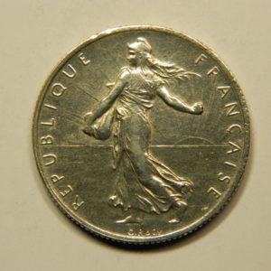 2 Francs Semeuse 1918 SUP Argent 835°/°° EB90764