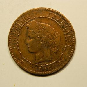 10 Centimes Cérès1896A Faisceau TTB EB90776