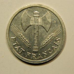 2 Francs Etat Français 1944 SUP EB90781