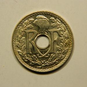 25 Centimes Lindauer Maillechort 1939 FDC EB90784