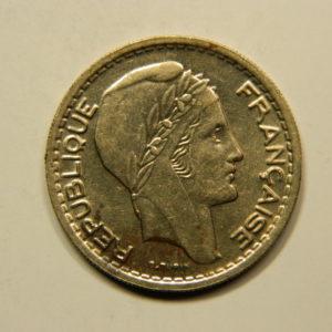 10 Francs Turin 1949B Petite Tête SUP  EB90787