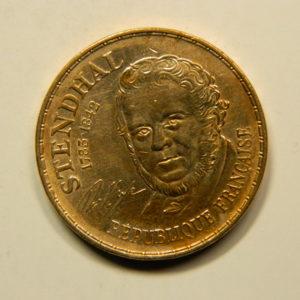 10 Francs Stendhal 1983 SUP EB90790