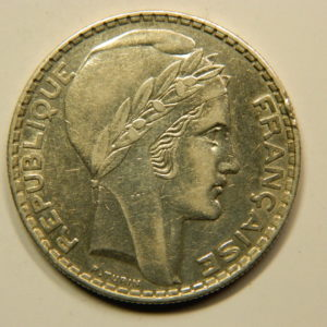 20 Francs Turin 1938 SUP Argent 680°/°°  EB90827