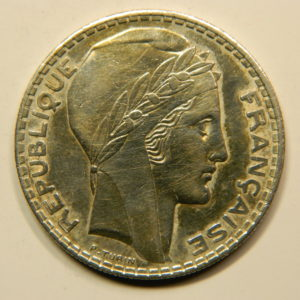 20 Francs Turin 1938 SUP Argent 680°/°°  EB90831