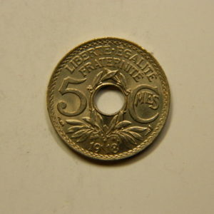 5 Centimes Lindauer Grand module 1918 SPL EB90834