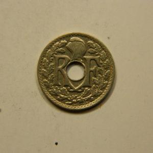 5 Centimes Lindauer petit module 1920 TTB EB90836