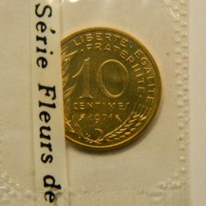 10 Centimes Marianne 1971 FDC EB90865