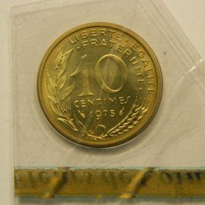 10 Centimes Marianne 1975 FDC EB90866