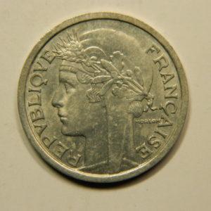 2 Francs Morlon 1945 TTB EB90869